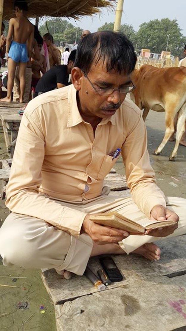 सरकार को संकट में डाल कर गंगा सिंह यादव पहुंचे सरयू तट