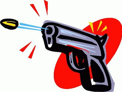 शहर में जमीन के विवाद को लेकर गोलीबारी, एक की मौत