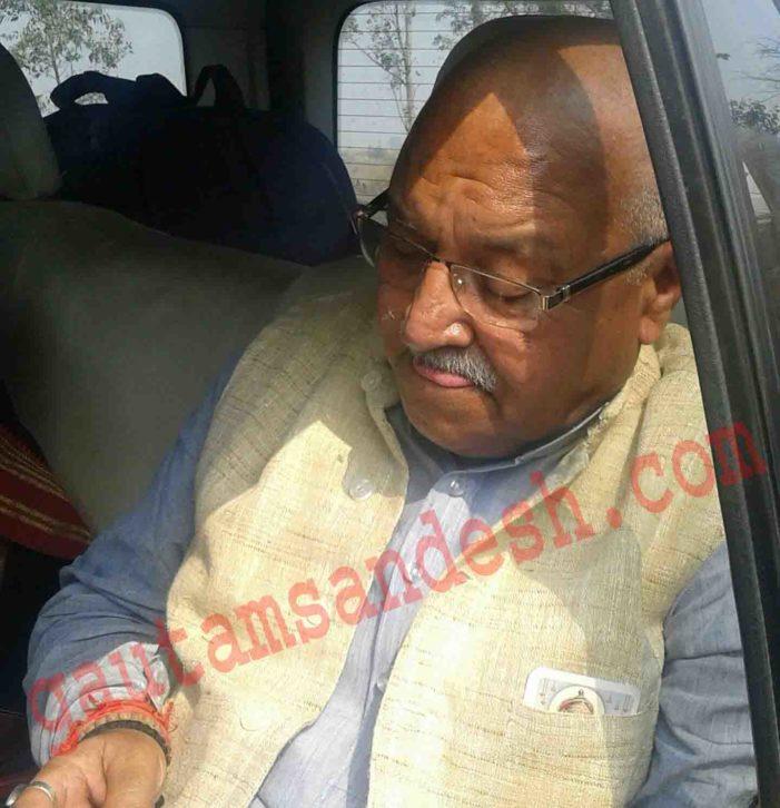 पुलिस ने लक्ष्मी कांत वाजपेई हिरासत में लिए, हड़कंप