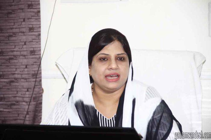गुंडई पर रोक लगते ही आबिद रजा का परिवार तिलमिलाया