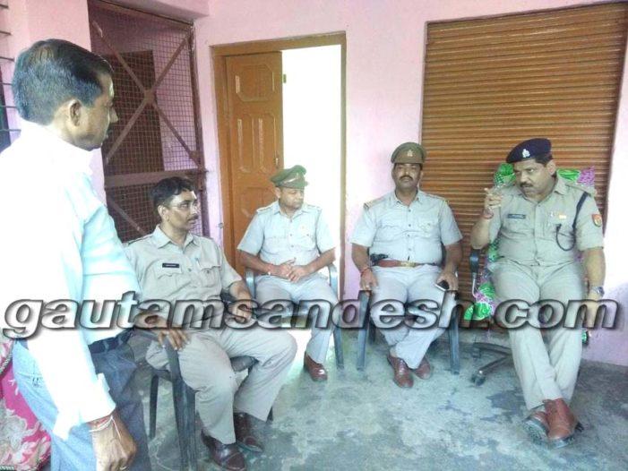 कुख्यात गाँव धनूपुरा में पुलिस और पीएसी का सफल ऑपरेशन