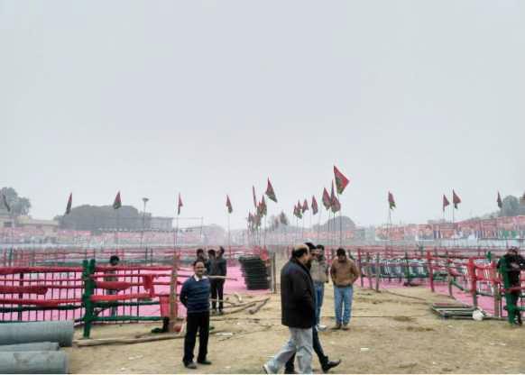 सपा की रैली को लेकर कड़े दिशा-निर्देश, शिवपाल भी पहुंचे