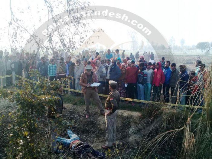 सुरेश चौहान के भतीजे अंकुर की हत्या, सर्वेश यादव पर हत्या का आरोप