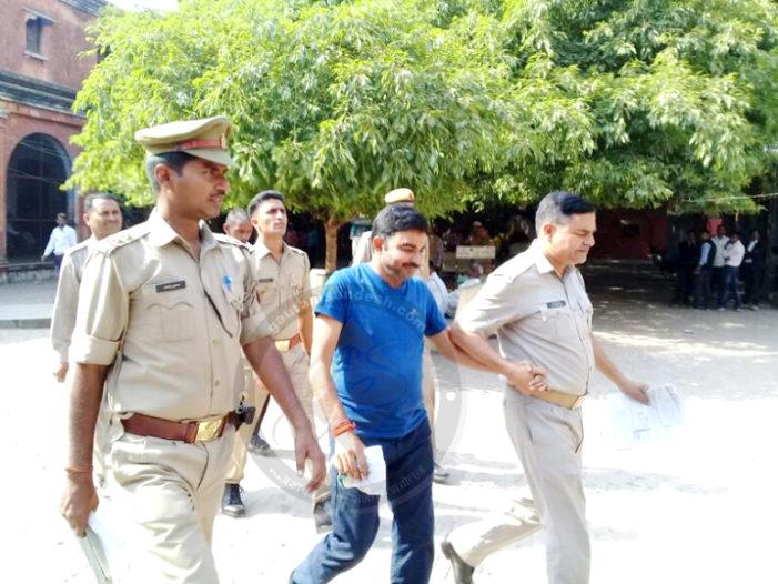 अंकुर चौहान के हत्यारोपी ब्लॉक प्रमुख पति सर्वेश यादव ने किया समर्पण
