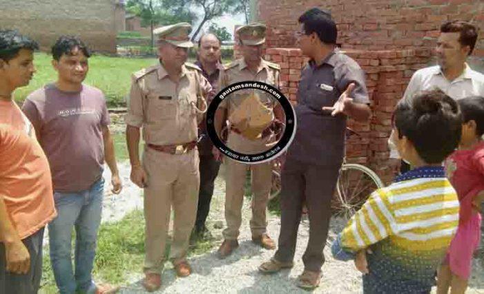 मुस्लिम युवक ने गाय की हत्या की जानकारी दी, तो पुलिस बोली दबा दो मांस