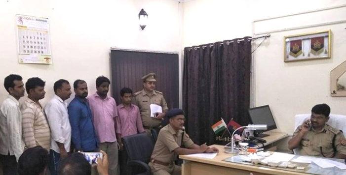 पुलिस ने सट्टे का सरगना और जूआ पकड़ा, भ्रष्ट एसओ सहित छः निलंबित