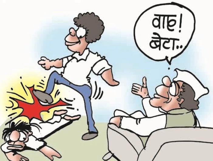 रावण सपा को गाली देता है और लड़का स्वयं को बता रहा है सपा नेता