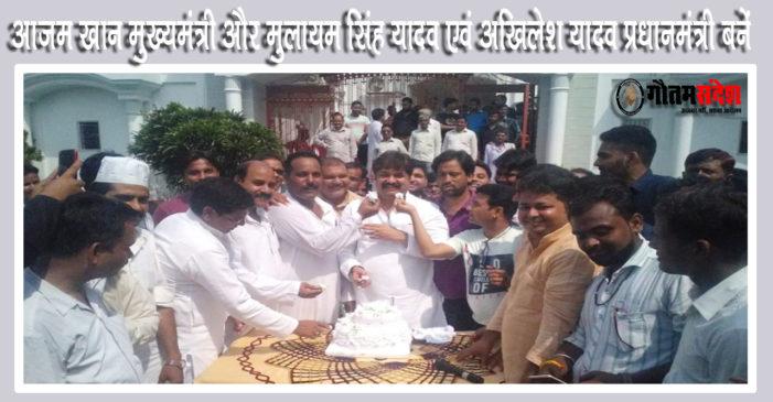 सेकुलर चाहते हैं कि आजम खान यूपी के मुख्यमंत्री बनें: आबिद